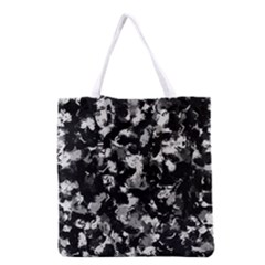 Shades Of Gray  And Black Oils #1979 All Over Print Grocery Tote Bag