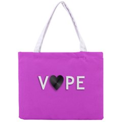 Vape Heart All Over Print Tiny Tote Bag