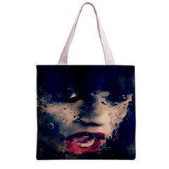 Abstract Grunge Jessie J  All Over Print Grocery Tote Bag