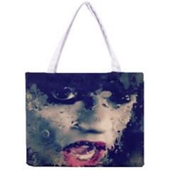 Abstract Grunge Jessie J  All Over Print Tiny Tote Bag