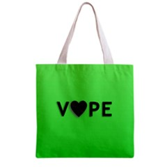 Vape Heart All Over Print Grocery Tote Bag