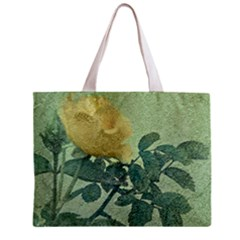 Yellow Rose Vintage Style  All Over Print Tiny Tote Bag