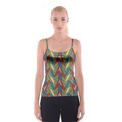 Shapes pattern top All Over Print Spaghetti Strap Top