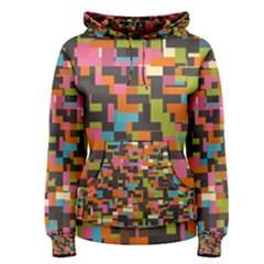 Colorful pixels hoodie Women s Hoodie