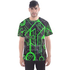 Tech All Over Print Sport T-Shirt (Men)