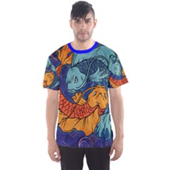 Koi Fish All Over Print Sport T Shirt (men)