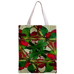Floral Print Colorful Pattern All Over Print Classic Tote Bag