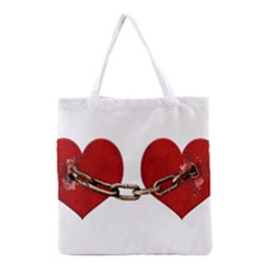 Unbreakable Love Concept All Over Print Grocery Tote Bag