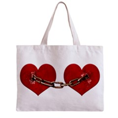 Unbreakable Love Concept All Over Print Tiny Tote Bag