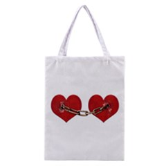 Unbreakable Love Concept All Over Print Classic Tote Bag