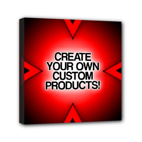 Create Your Own Custom Products And Gifts Mini Canvas 6  X 6  (framed)