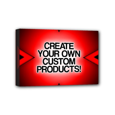 Create Your Own Custom Products And Gifts Mini Canvas 6  X 4  (framed)