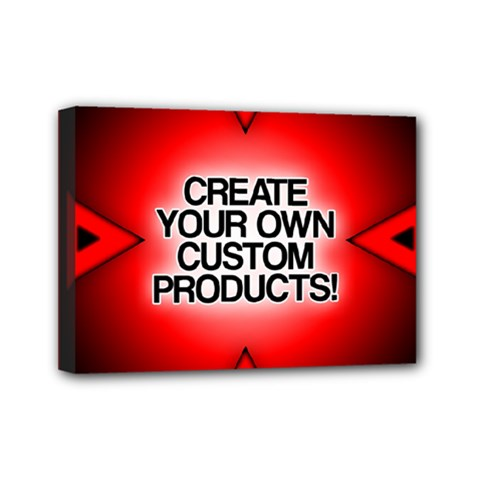 Create Your Own Custom Products And Gifts Mini Canvas 7  X 5  (framed)