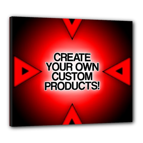Create Your Own Custom Products And Gifts Canvas 24  x 20  (Framed)