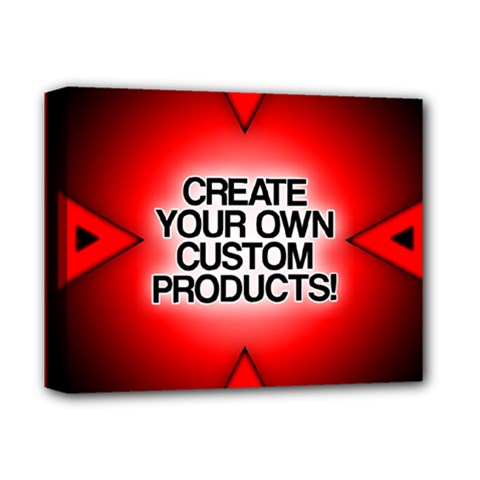 Create Your Own Custom Products And Gifts Deluxe Canvas 14  X 11  (framed)