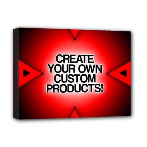 Create Your Own Custom Products And Gifts Deluxe Canvas 16  X 12  (framed)