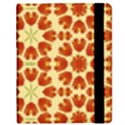 Colorful Floral Print Vector Style Samsung Galaxy Tab 8.9  P7300 Flip Case View2