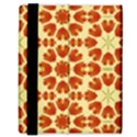 Colorful Floral Print Vector Style Samsung Galaxy Tab 8.9  P7300 Flip Case View3