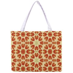 Colorful Floral Print Vector Style All Over Print Tiny Tote Bag