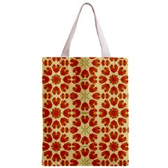 Colorful Floral Print Vector Style All Over Print Classic Tote Bag