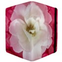 White Rose with Pink Leaves Around  Apple iPad Mini Flip Case View4