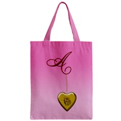 A Golden Rose Heart Locket All Over Print Classic Tote Bag