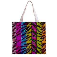Crazy Animal Print Abstract  All Over Print Grocery Tote Bag
