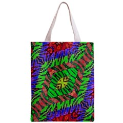 Zebra Print Abstract  All Over Print Classic Tote Bag