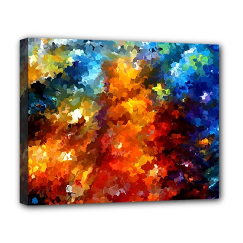 Modern Composition 01 By Rafi Talby Deluxe Canvas 20  X 16  (framed)