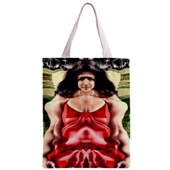 Cubist Woman All Over Print Classic Tote Bag