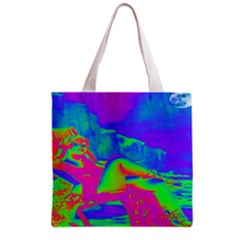 Seaside Holiday All Over Print Grocery Tote Bag