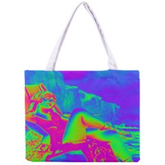 Seaside Holiday All Over Print Tiny Tote Bag