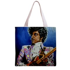 His Royal Purpleness Grocery Tote Bag