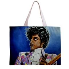 His Royal Purpleness Tiny Tote Bag