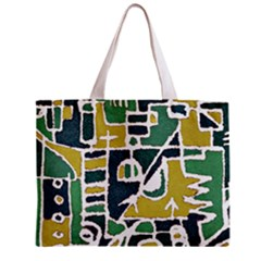 Colorful Tribal Abstract Pattern Tiny Tote Bag
