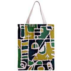 Colorful Tribal Abstract Pattern Classic Tote Bag