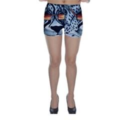 Cool Cat Skinny Shorts