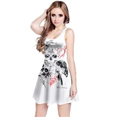 Skull Love Affair Sleeveless Dress