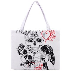 Skull Love Affair Tiny Tote Bag