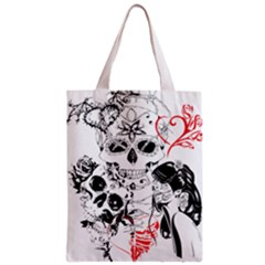 Skull Love Affair Classic Tote Bag