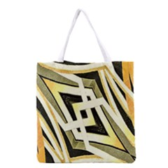 Art Print Tribal Style Pattern Grocery Tote Bag