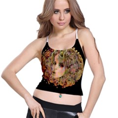 Organic Planet Women s Spaghetti Strap Bra Top