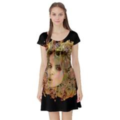 Organic Planet Short Sleeved Skater Dress