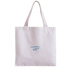 risk it Grocery Tote Bag