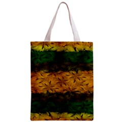 Tribal Floral Pattern Classic Tote Bag