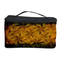 Tribal Floral Pattern Cosmetic Storage Case
