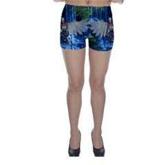 Magic Sword Skinny Shorts