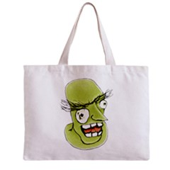 Mad Monster Man With Evil Expression Tiny Tote Bag