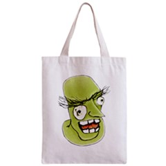 Mad Monster Man with Evil Expression Classic Tote Bag