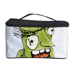 Mad Monster Man with Evil Expression Cosmetic Storage Case